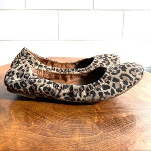 Lucky Brand Shoes - Lucky Brand Emmie Ballerina Flats Leopard Brown 7